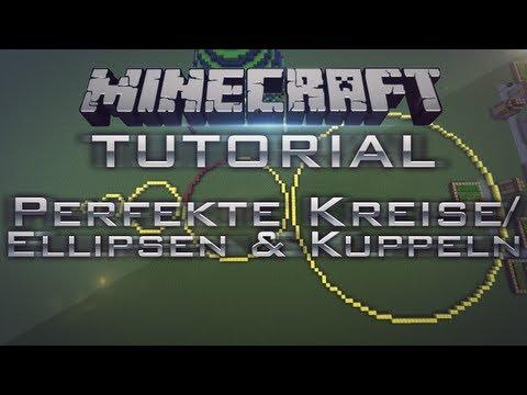 Minecraft - Perfekte Kreise/Kuppeln/Bögen/Sphere uvm. - Tutorial 1.11