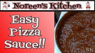 Easy Pizza Sauce Recipe ~ Noreen's Kitchen Basics