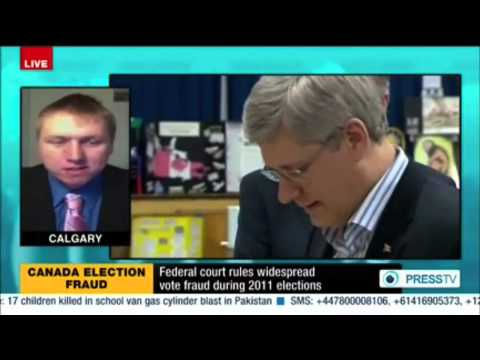 Judge Confirms Voter Suppression Took Place in 2011 Canadian Election - PRESS TV