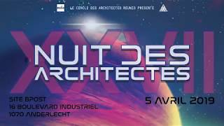 Nuit des architects 2019