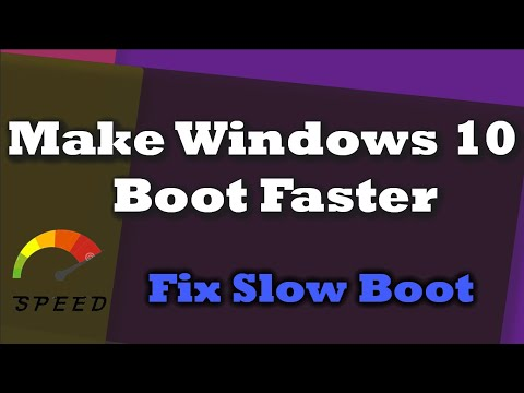 5 Tricks To Make Windows 10 Boot Faster | Fix Slow Boot Times