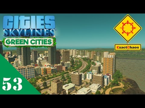Cities Skylines Green Cities Let's Play 53 - Avenue Service Road