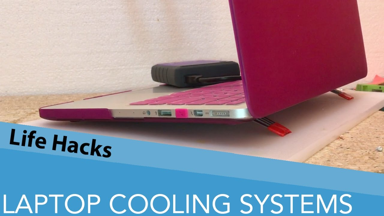 Homemade Laptop Cooler Stand That Will Save Your Money