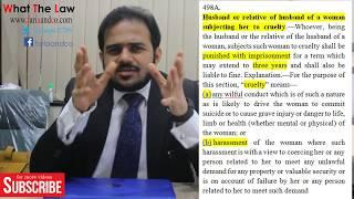क्या है 498a IPC दहेज हिंदी में समझाया | Explained Dowry in Hindi | What The Law