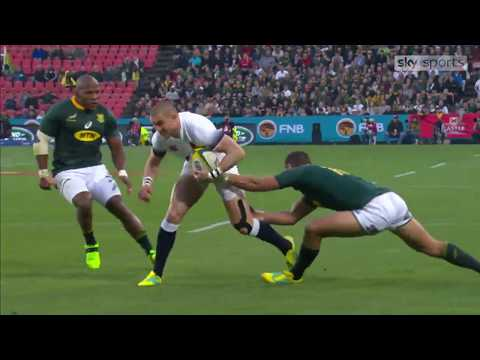 Highlights: South Africa 42 England 39