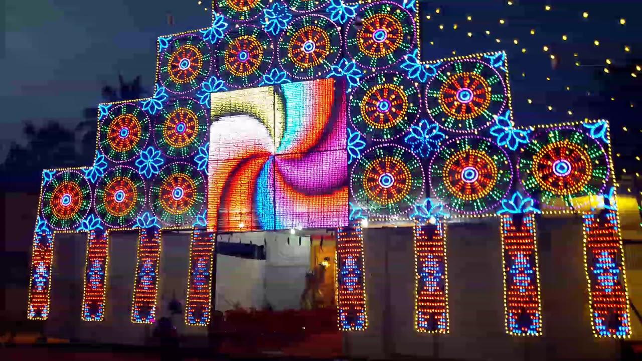 Durga puja thissur in Kerala