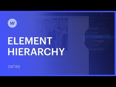 Element Hierarchy, Nesting, And Style Cascading - Web Design Tutorial