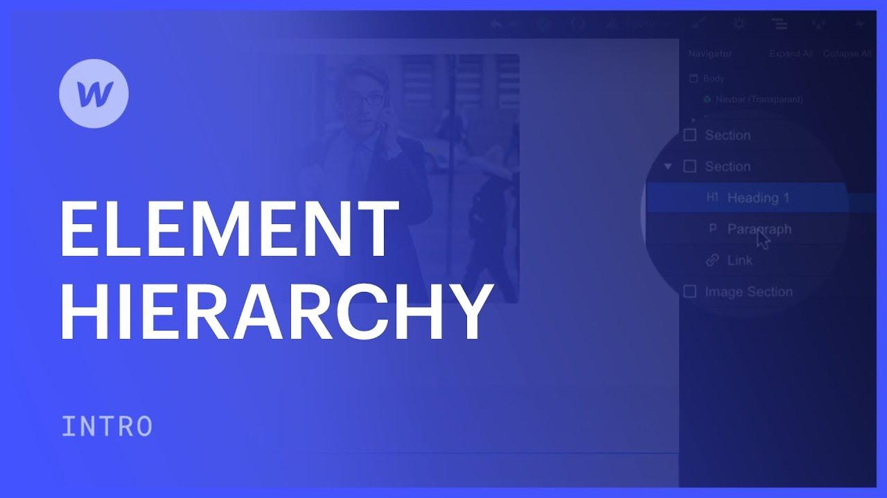 Element Hierarchy | Webflow University