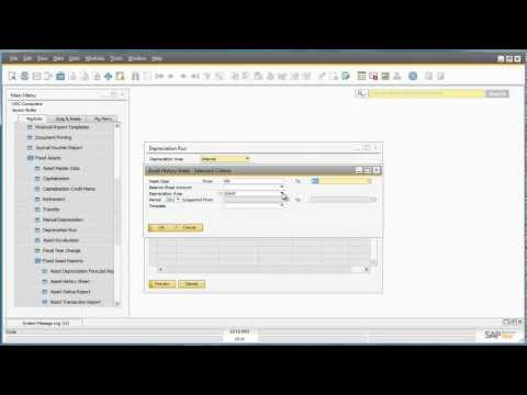 Fixed Assets in SAP Business One Version 9