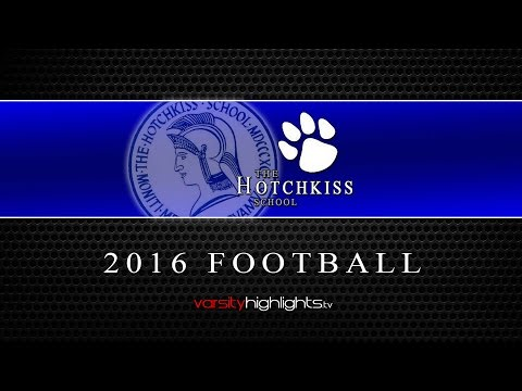 The Hotchkiss School Football 2016 Highlights