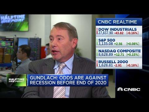 DoubleLine Capital CEO Jeffrey Gundlach: Recession In 2020 Unlikely