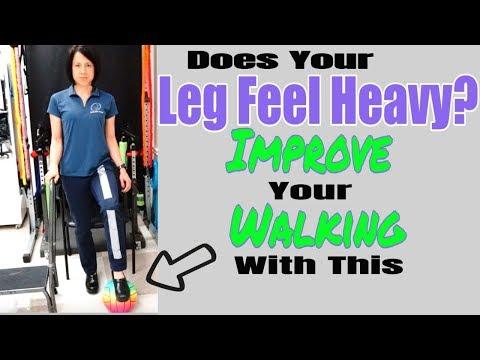 "Exercise to improve walking: fix a ""heavy leg"""
