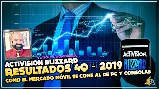 Resultado financiero Activison-Blizzard y cómo el mercado móvil se come al de PC y Consolas