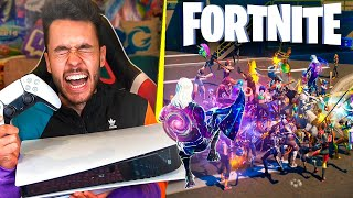 JUGANDO FORTNITE EN PS5 - TheGrefg