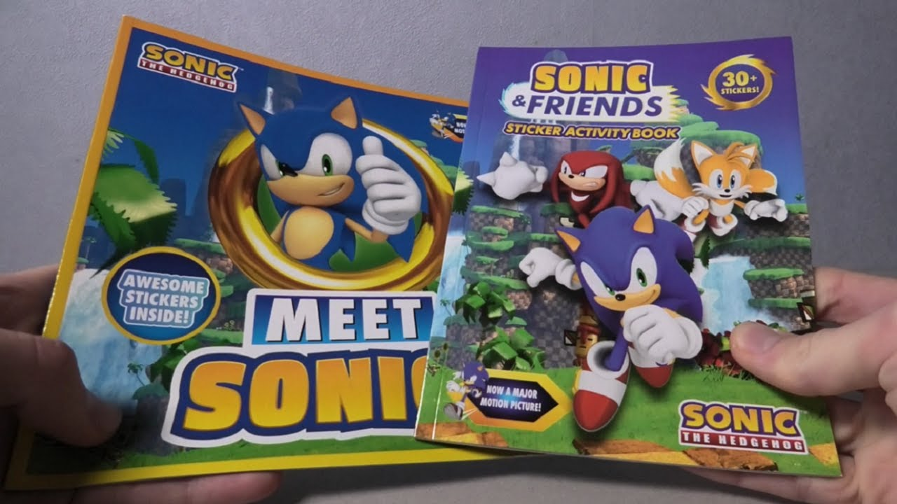 Sonic the Hedgehog Sticker Books