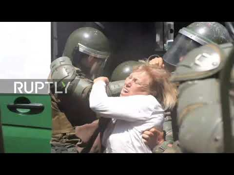 Chile: Several Santiago vegans detained after clashes with police