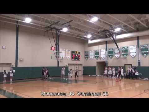 Game Highlights Boys' Varsity: Mohonasen 48 vs Schalmont 66 (F)