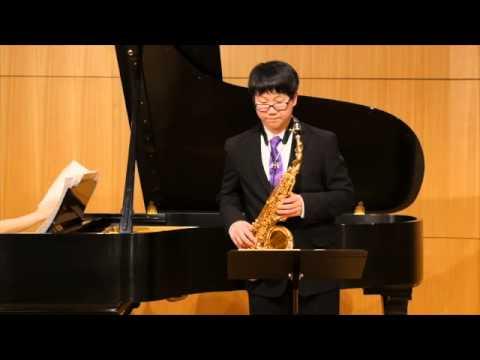 Sonata for Alto Saxophone and Piano (Lawson Lunde)