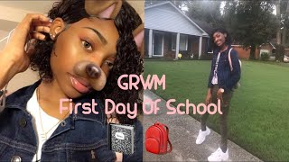 GRWM LAST First day of High school 🤪| Eva williams