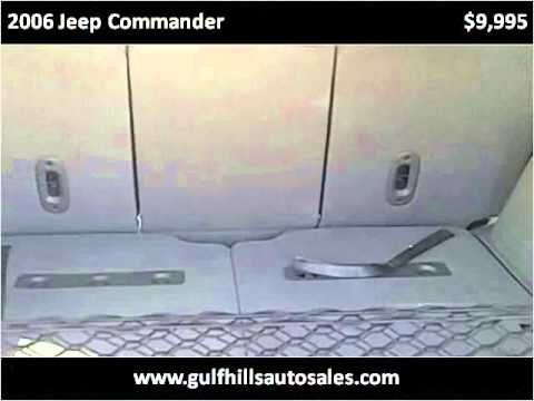 2006 Jeep Commander Used Cars Ocean Springs MS