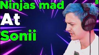 Ninja gets mad at sonii for no reason! - Valorant poggers moments 8