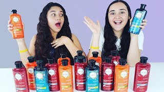 NO Escojas el Shampoo de Slime Equivocado Challenge   Don't choose the wrong shampoo Slime challenge