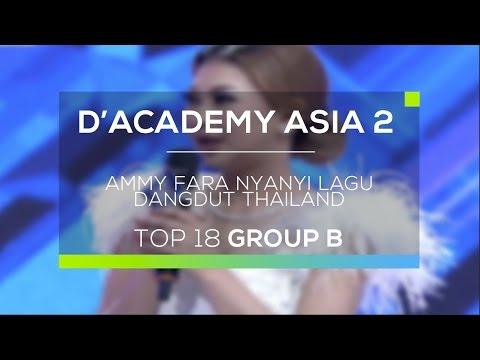Ammy Fara Nyanyi Lagu Dangdut Thailand (D'Academy Asia 2)