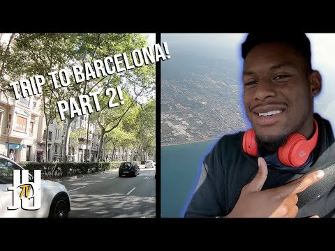 NFL Vacation: JuJu's Trip To Barcelona! | Part 2