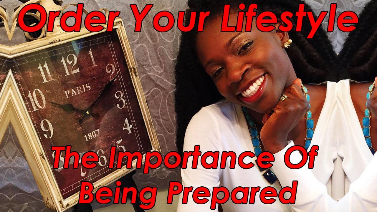 importance of being prepared This blog is about being prepared not simply prepared for a natural disaster (although that's important) or the end of the world as we know it it's about being able to take care of yourself and being prepared for whatever life may throw at you.