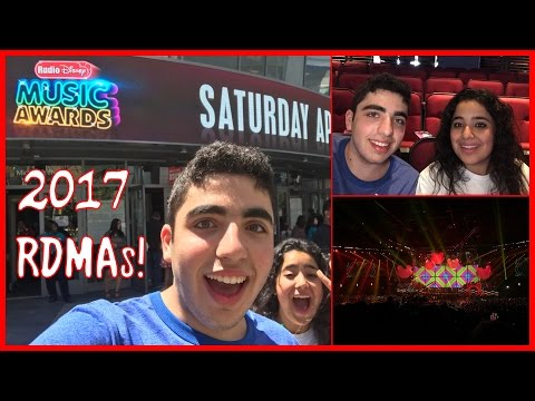 VLOGGIN' AT THE 2017 RADIO DISNEY MUSIC AWARDS!!!