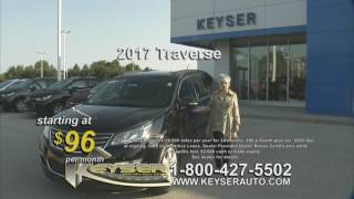 Keyser Chevrolet Buick Model Year End Clearance Sale! Silverado Equinox Traverse and More!