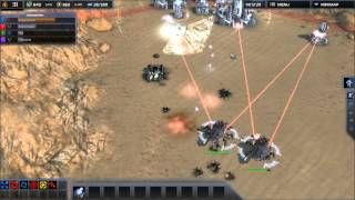 Supreme Commander 2 Tactics and quick Commentary