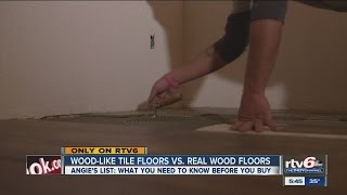 Angie's List: Pros And Cons Of Wood-like Tile