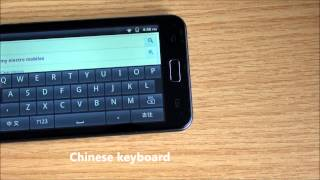 How to change Android Keyboard input method from Chinese to English, phone tablet