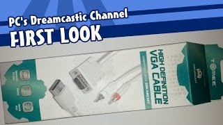 First Look & Unboxing: Tomee Dreamcast VGA Cable + 1080p Upconverter!(In this episode I take a look at the Tomee VGA cable for the Sega Dreamcast and show you how to get up to 1080p resolution out of it! Buy the Tomee Dreamcast ..., 2014-04-19T12:00:05.000Z)