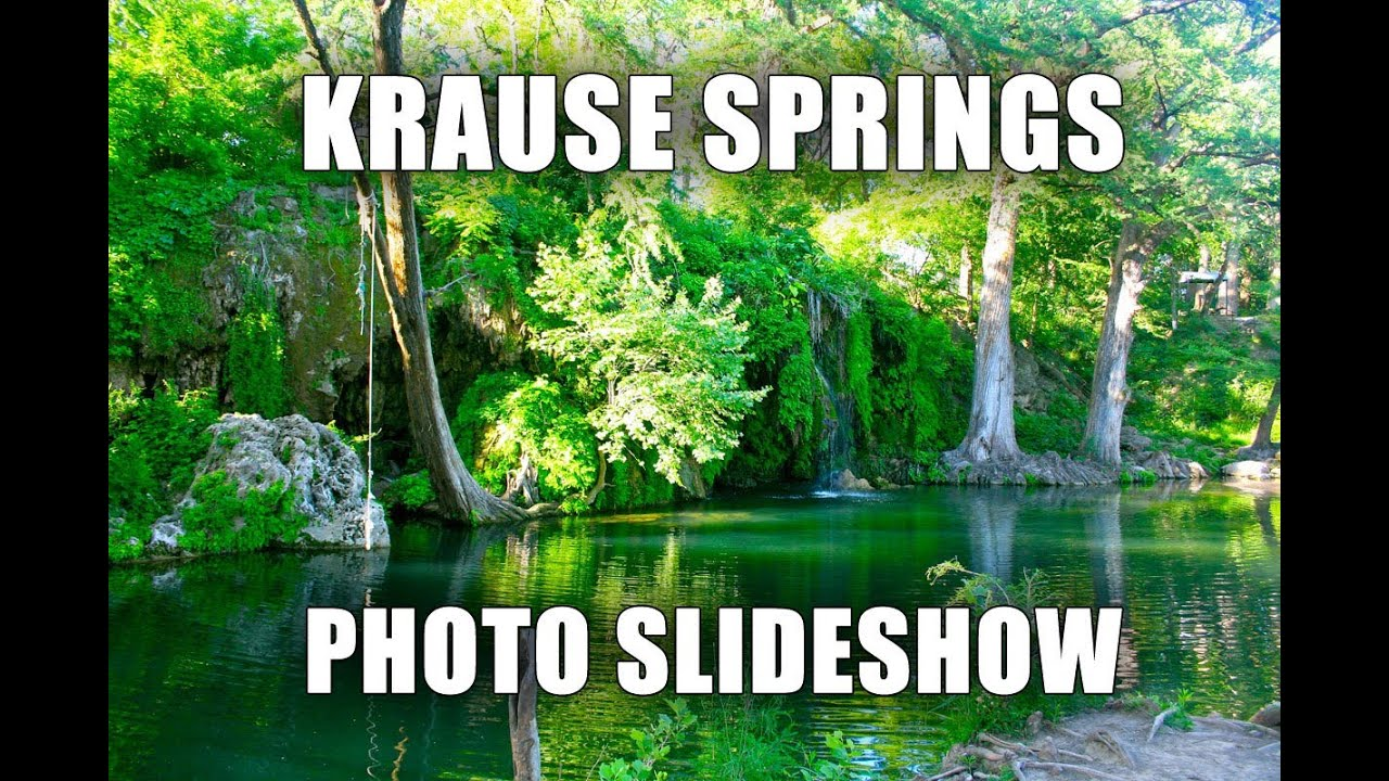 Krause Springs | Hill Country Natural Springs | Camping
