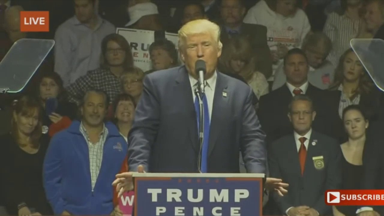 Download Donald Trump, Mike Pence MASSIVE Rally in Manchester, New Hampshire (11/7/2016)