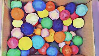 Мячики, Сборник, развлечения для малышей, цвета,песок