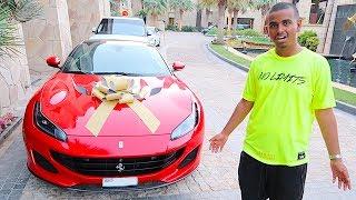 dubai-s-richest-kid-new-car-birthday-surprise