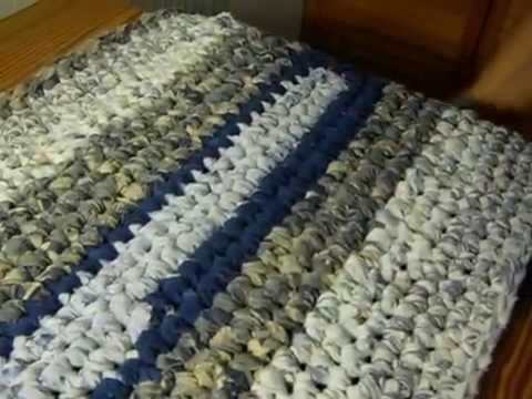 NO SEW Sheet Yarn And Info For Rag Rug Making   YouTube