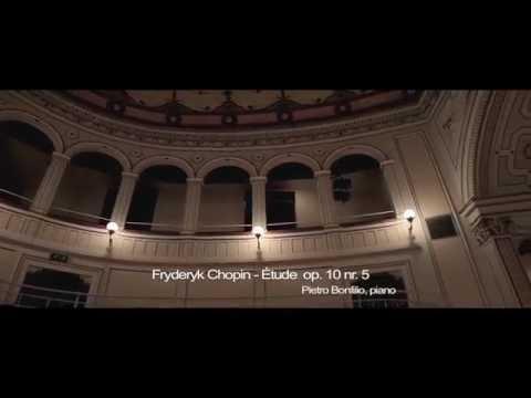 F. Chopin - Etude op.10 n.5 / Pietro Bonfilio