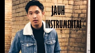 Aziz Harun - Jauh [ Karaoke   Instrumental   Minus One with Lyrics ]