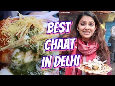 BEST CHAAT IN DELHI | Delhi Street Food Vlog