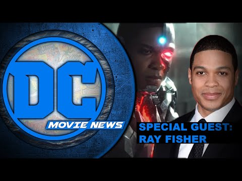 Ray Fisher aka Cyborg in studio to discuss Justice League!  DC Movie