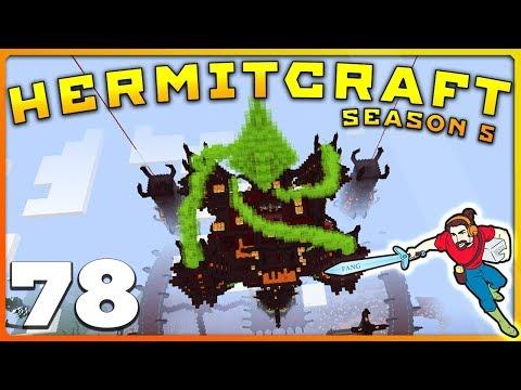 HermitCraft 5 | NOW THAT'S A BASE! 👏 | Ep 78 || Minecraft Vanilla 1.12