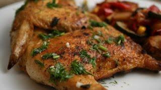 Цыплята на шампурах