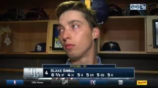 Blake Snell -- Tampa Bay Rays vs. Toronto Blue Jays 04/06/2017