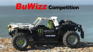 Lego Technic RC MONSTER ENERGY - BALLISTIC B.J. BALDWIN - BuWizz fast car Competition