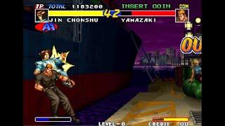 [TAS]ARCADE Real Bout Fatal Fury-Jin Chonshu
