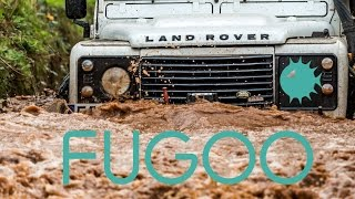 Fugoo Tough & Fugoo XL Bluetooth Speaker Torture Test Review with 4X4 Landrover